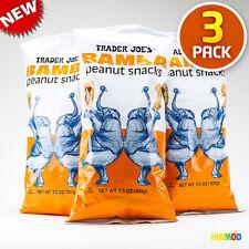 3-Pack Trader Joe's Bamba Peanut Snacks 3.5 oz / 100g - FREE SHIPPING !!