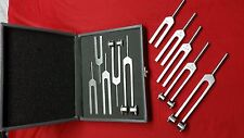 5 Tuning Forks Set Medical Surgical Chiropractic Physical Diagnostic instruments