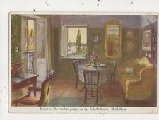 Home Of Student Prince Scheffelhouse Heidelberg Germany Vintage Postcard 993a