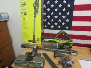 RYOBI 18-Volt ONE+ Brushless Stick Vacuum Cleaner Kit- P718 408
