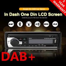 1 DIN Car DAB+ Radio Bluetooth Stereo Head Unit MP3 Player USB/SD/AUX-IN/FM IT