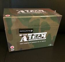 The A-Team Complete Seasons 1 to 5 Ultimate Collection New Sealed DVD Box Set.