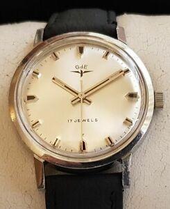 "Vintage Armbanduhr ""GdE"" – Handaufzug - Cal. AS 1950"