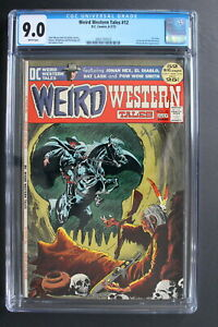 WEIRD WESTERN TALES 12 Adams Wrightson 1st issue 1972 3rd JONAH HEX CGC VFNM 9.0