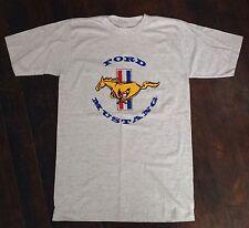 Vintage 1980's Ford Mustang Logo T-Shirt Pony Size Medium Car Automobile USA
