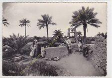 CPSM ALGERIE Un puits au Mzab animé Edit COMBIER ca1940