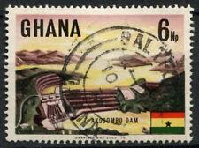 Ghana 1967 SG#466, 6NP Akosombo Dam, Definitive Used #D21804