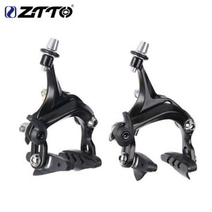 1Pair ZTTO Bicycle Brake Front&Rear Side Pull Road Bike V/C Brake Calipers Parts