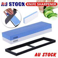 1000/6000  Dual Whetstone Waterstone Knife Sharpening Water Wet Stone Sharpener