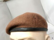 BRITISH ARMY KINGS ROYAL HUSSARS REGIMENT BERET SIZE 56