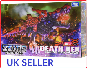 **UK Seller** Zoids DEATH REX (ZW12) - Official Takara Tomy - Toy Figure BOXED