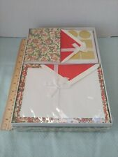 Vintage Whiting's Florentine Stationery Set Sealed Boxed Set