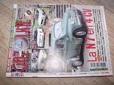 $$ Gazoline N°119 N7 4 CV  Panhard Junior  Citroën BX 4TC  Fiat 127