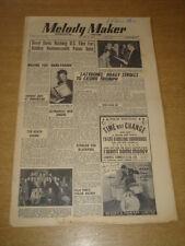 MELODY MAKER 1948 AUGUST 14 BERYL DAVIS HOAGY CARMICHAEL GERALDO BLACKPOOL +