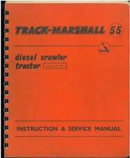 Track Marshall Crawler Tractor 55 - TM55 Operators Instructions & Service Manual