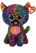 "Ty Beanie Boos Claire's SPELLBOUND Plush 10"" Cat New with Tags"