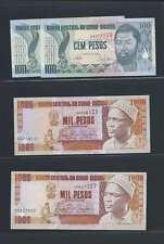 Guinée Bissau Lot de 4 billets   en état NEUF   Lot N° 2