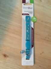 New listing Cat collar, Breakaway with bell by good2go Adjustable 8-12 in� reflective arrows