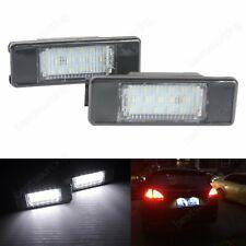 Feux Eclairage de Plaque LED Peugeot 106 307 308 3008 406 407 508 806 807 Expert