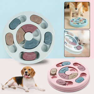 Dog Treat Dispenser Puppy Feeder Puzzle Game Interactive Toy Pet Training Supply