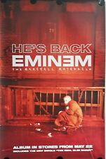 EMINEM  Original Giant Promotional  Poster  40x60 inch.FREE INT.SHIPPING