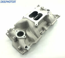 Deepmotor Sbc Small Block Chevy 350 400 Aluminum Intake Manifold Dual Plane
