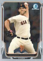 2014 Bowman Chrome Baseball #41 Madison Bumgarner San Francisco Giants