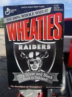 1995 Raiders Wheaties Box