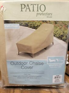New Allen Patio Protectors 7648A Outdoor Chaise Lounge Chair Cover PVC Free