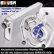 Front Mount Intercooler Pipings Kits for 95-01 Subaru Impreza GC8