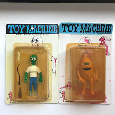 Toy Machine Transistor Sect and Turtle Boy Characters New In Packaging