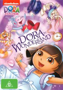 DORA THE EXPLORER: DORA IN WONDERLAND (2014) [NEW DVD]