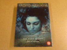 4-DISC SPECIAL EDITION DVD BOX / TWIN PEAKS - SEASON 1