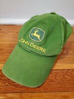 John Deere Nothing Runs Like a Deere Adult Green Cap Hat Adjustable Strapback