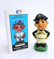 Vtg 1988 TEI Pittsburgh Pirates Mascot MLB Baseball Team Bobblehead w Box