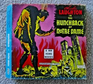 THE HUNCHBACK OF NOTRE DAME 8mm HOME MOVIE FILM 1939 RARE IN BOX  I706