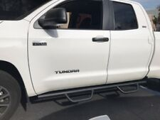 2007-2018 Toyota Tundra Double Cab Hoop Matted Running Board Nerf Bar Side Step