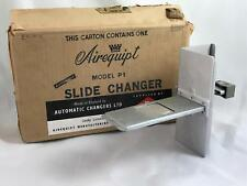 AIREQUIPT AUTOMATIC SLIDE CHANGER MODEL P-1 FOR 2X2 SLIDES