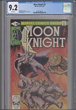 Moon Knight #6 CGC 9.2 1980 Marvel Comic Klaus Jansen Art: New Frame
