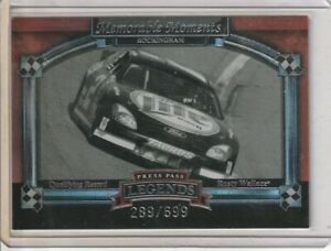 Rusty Wallace 2006 Press Pass Legends Memorable Moments 289/699
