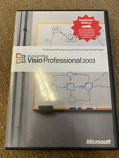 Microsoft Office Visio Professional 2003 Academic Edition w/Key
