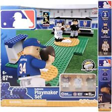 NEW MLB Playmaker Set Noah Syndergaard Anthony Rizzo Lego Brick 87Pcs OYO Sports