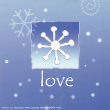 """ART PRINT:LITHO: 6"""" X 6"""" : CHRISTMAS:  : LOVE   by UNKNOWN     #P109     RAA22 A"""