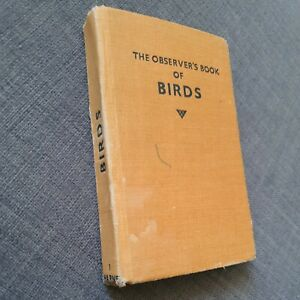 The Observer's Book of Birds 1955 Edition Warne No 1 784-655