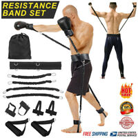 Resistance Bands Boxing Thai Gym Strength Training Equipment Sports Fitness