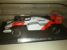 RBA McLaren Tag Turbo Mp4/2C Porsche engine 1:43 Prost 1986