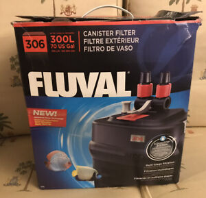 Fluval 306 (#04) External Canister Filter up to 70 Gallon , A212 New