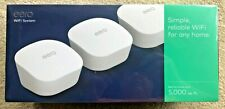 NIB eero mesh (3rd Generation) Wi-Fi Router/Extender-Pk of 3, Up to 5000 sq ft