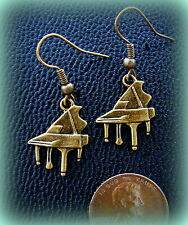 PIANO Earrings - ANTIQUE Art Deco Vintage RETRO Style PIANO Jewelry