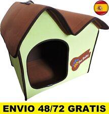Cama para perros gatos Casa mascotas medidas DE 53 X 46 X 46 CM Portátil